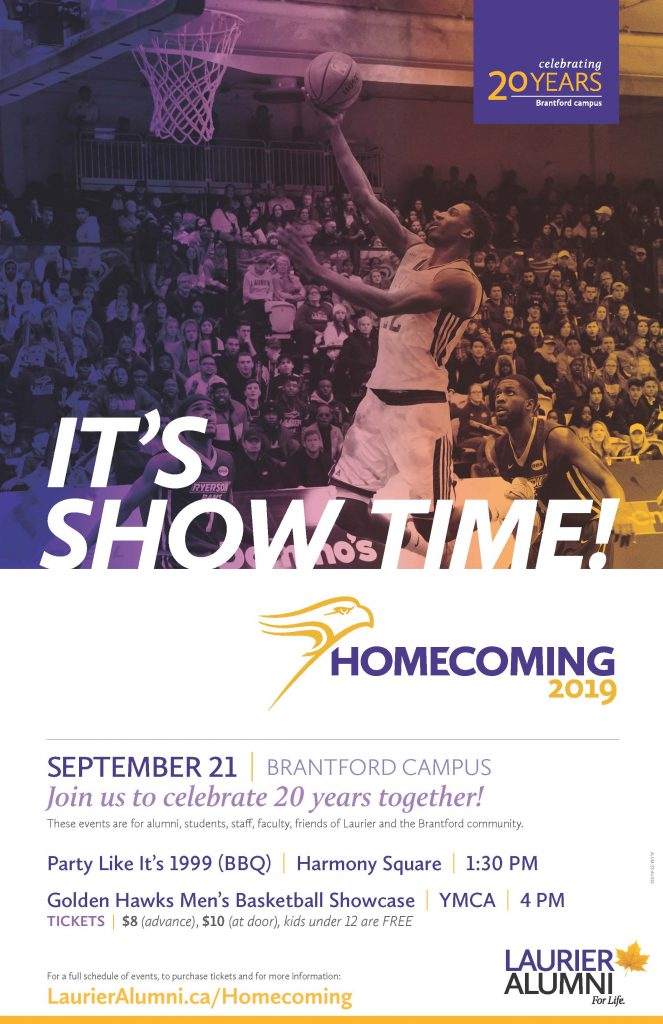 Laurier Homecoming Poster
